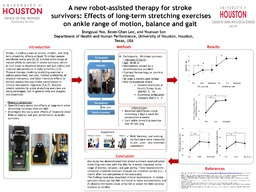 A New Robot-Assisted Therapy for Stroke Survivors: Effects